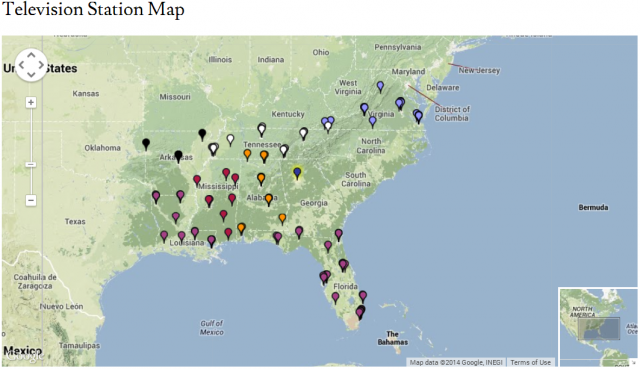 VST: Visualizing Southern Television (Update)