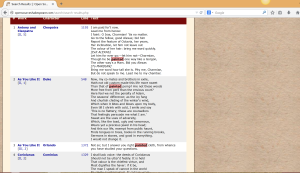 Open Source Shakespeare (2)
