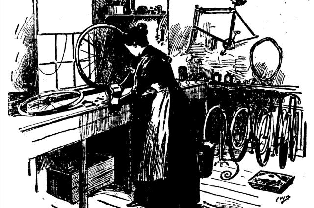 Wheelwomen at Work