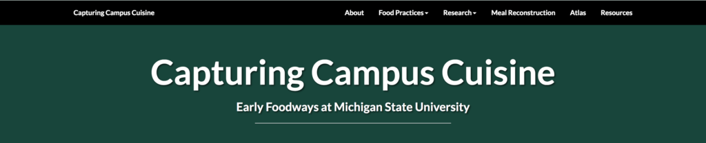Capturing Campus Cuisine: Header